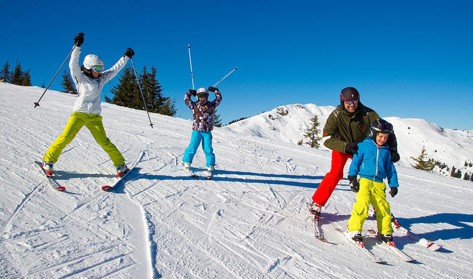 Pures Skivergnügen in Ihrem Winterurlaub mit der Familie in Österreich