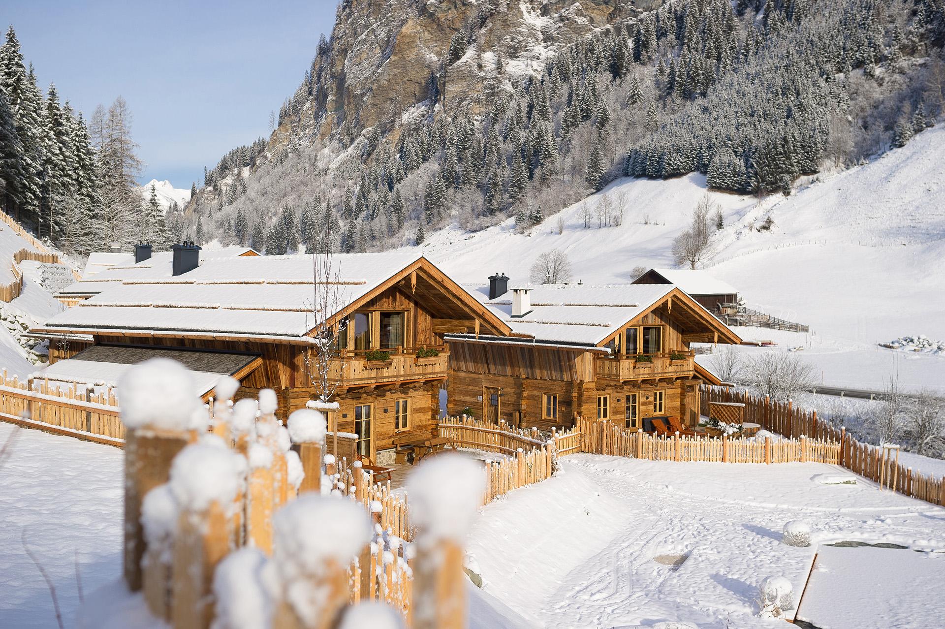 skiurlaub im salzburger land chalets auszeit in gro arl. Black Bedroom Furniture Sets. Home Design Ideas