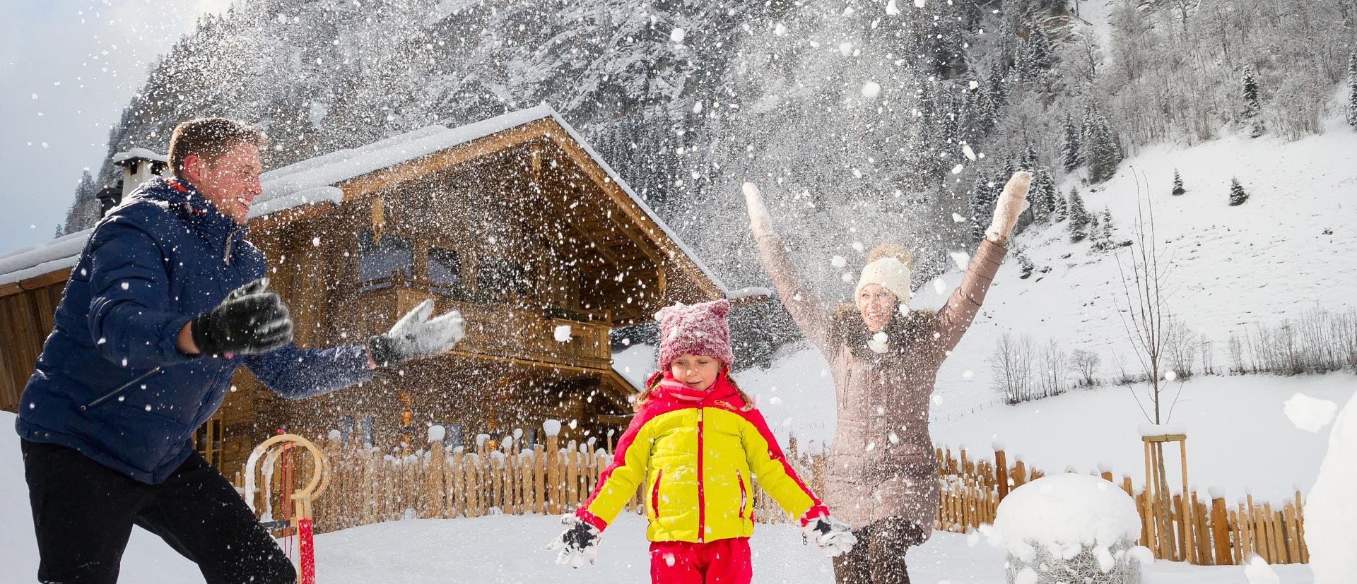 Unsere Luxus-Chalets sind ideal für Ihren Familienurlaub in Österreich