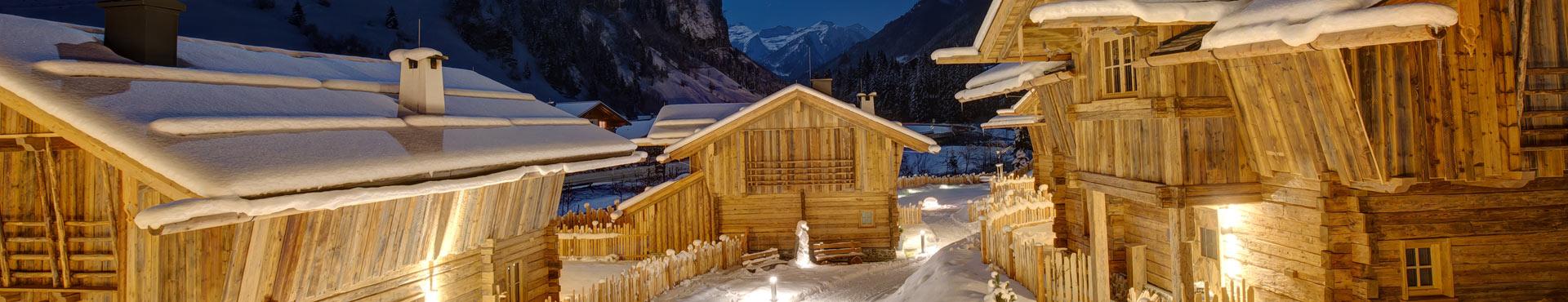 Genießen Sie den Winterurlaub im eigenen Luxus-Chalet in Österreich