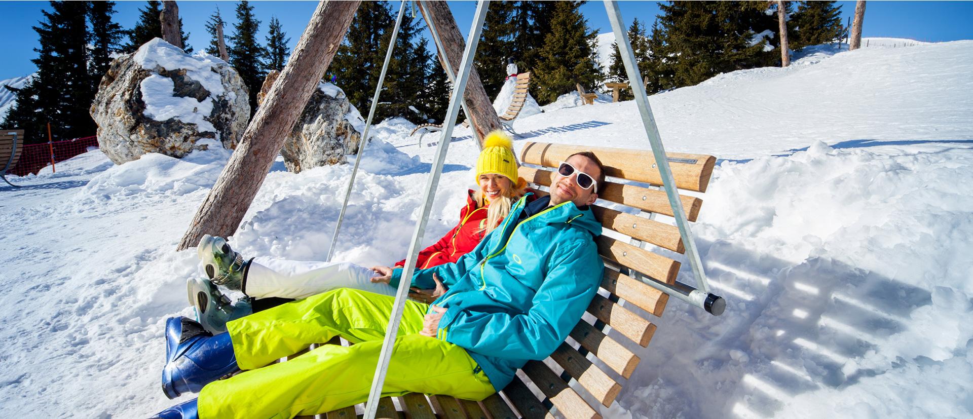 Ski Schaukel