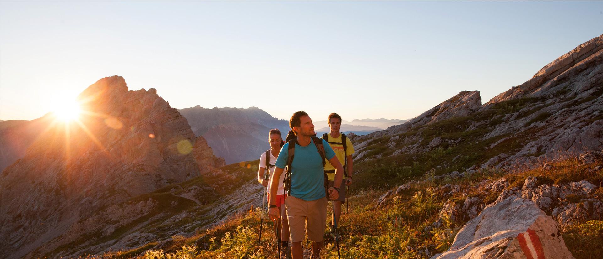 Entdecken Sie die Berge in Ihrem Aktivurlaub in Österreich