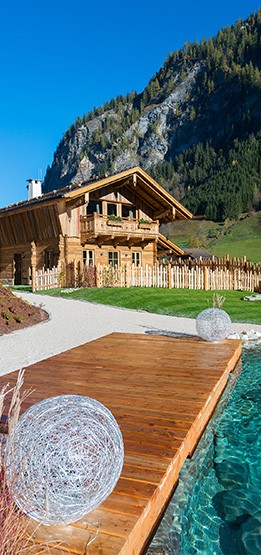 Genießen Sie Ihren Sommerurlaub im eigenen Chalet im Salzburger Land
