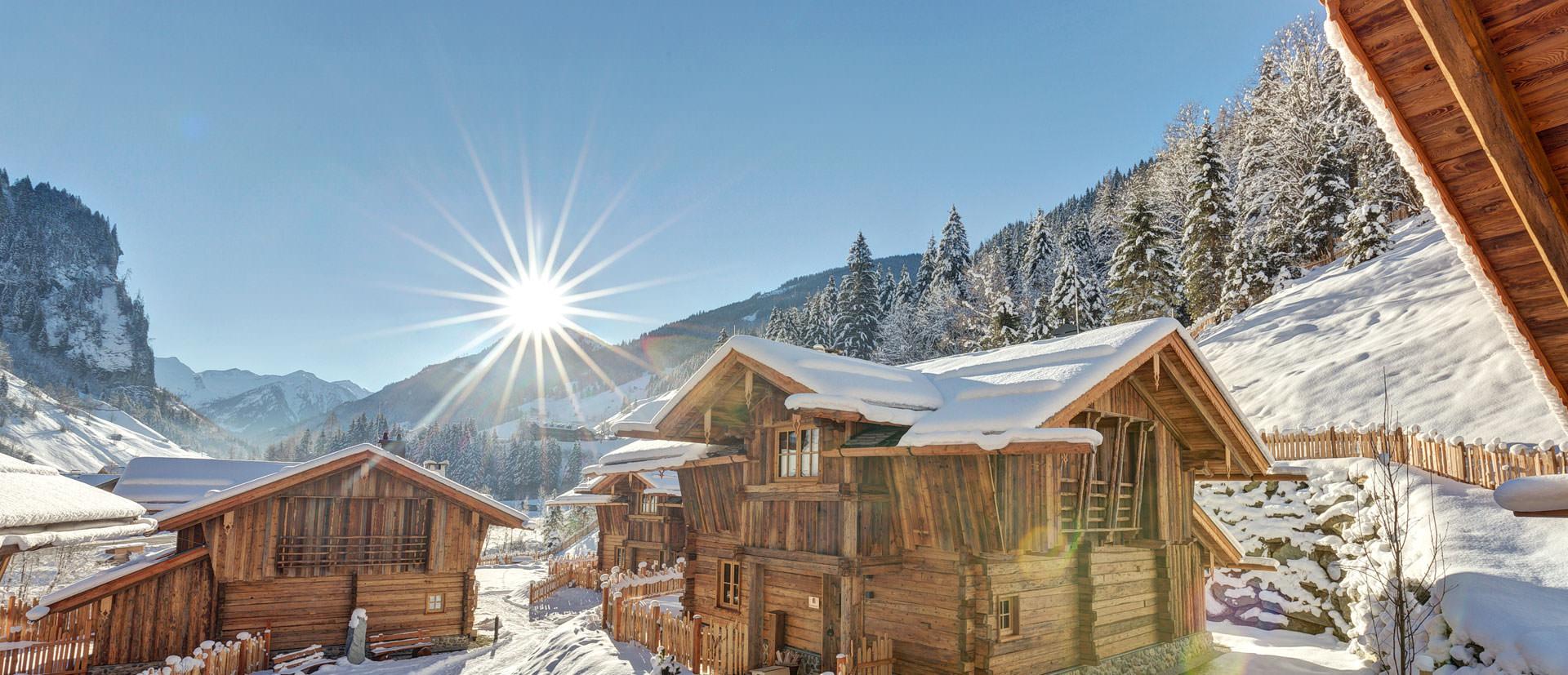 Erleben Sie einen perfekten Hüttenurlaub in den Bergen in Österreich