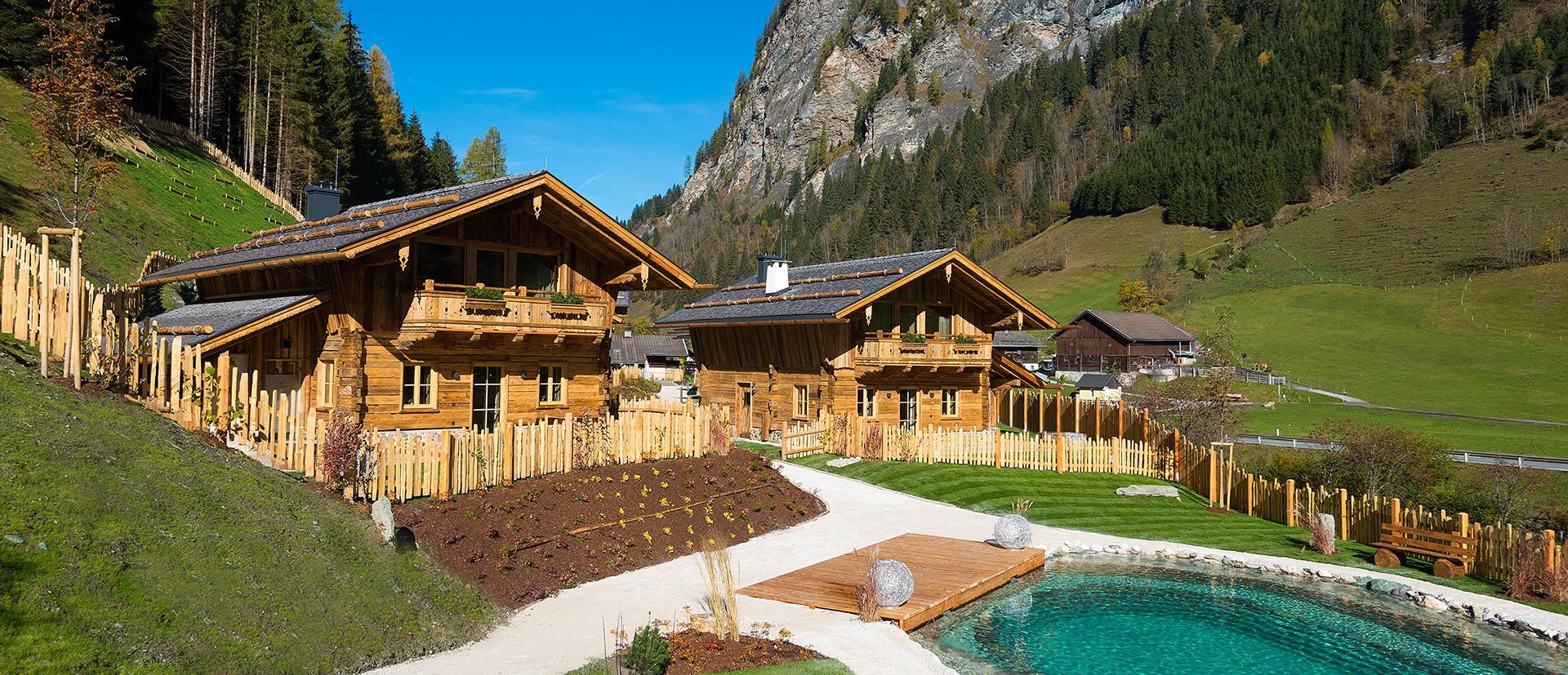 Fühlen Sie sich wohl in Ihrem Luxus Chaleturlaub in Österreich